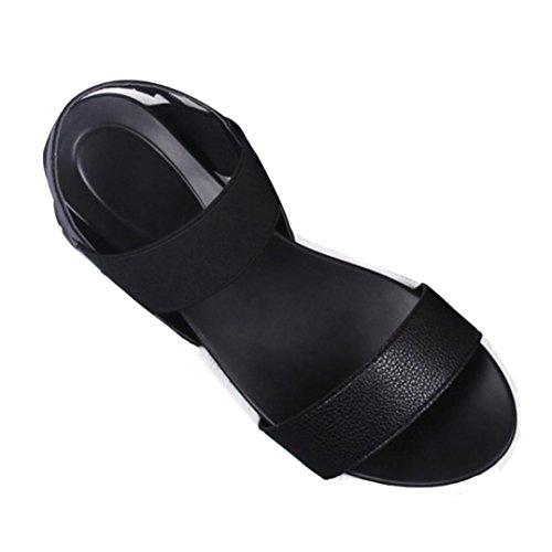 Zapatos K Mujer Sandalias Boca de de Plataforma de Moda Youth De Mujer C Pescado con Sandalias Ew1FqFX