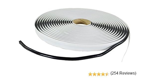noir Esnado Ruban mastic rond en caoutchouc butyle 6/mm/x/8/m ou 8/mm/x/6/m Noir