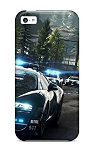 New Diy Design Need For Speed Rivals Bugatti Cop Car For Iphone 5c Cases Comfortable For Lovers And Friends For Christmas Gifts 9241227K33424399