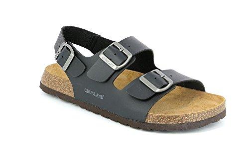 Nero Sb3005 Sandalo Uomo S Bobo 43 Grunland q0CZwRX