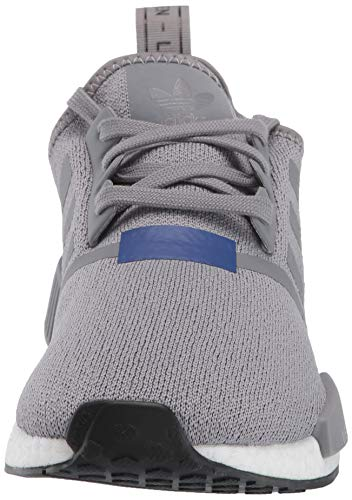 adidas Originals Men's NMD_R1 Running Shoe Grey/Active Blue, 4 M US by adidas Originals (Image #4)