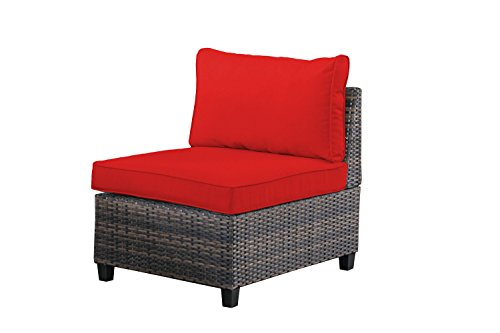 tampa 6 piece outdoor rattan wicker sofa sectional sets