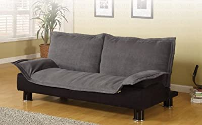 Coaster Home Furnishings Contemporary Sofa Bed, Dark Grey