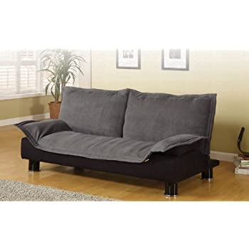 Exceptionnel Coaster Home Furnishings Contemporary Sofa Bed, Dark Grey