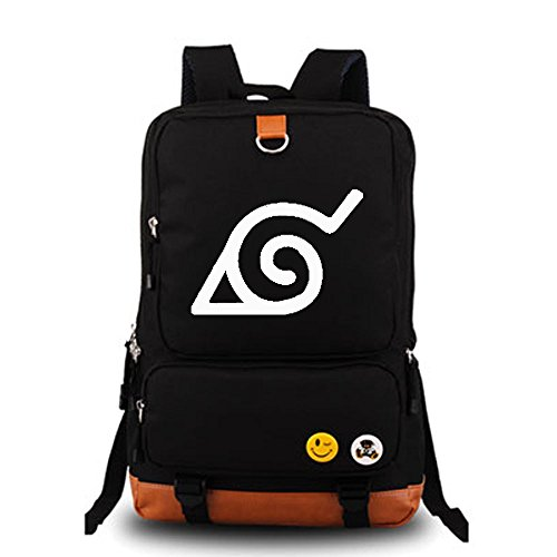 Naruto Scarf (YOYOSHome Naruto Anime Cosplay Luminous Rucksack Backpack School Bag)