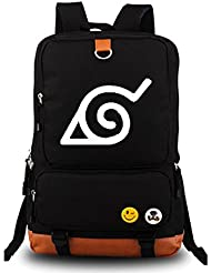 YOYOSHome Naruto Anime Cosplay Luminous Rucksack Backpack School Bag