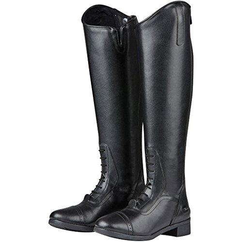 para Negro de Saxon Equitación Botas Mujer 8Bvwxw6nX