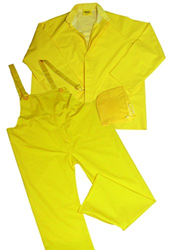 Ironwear 9200-Y .35mm PVC/Polyester fabric Rain Suit 2XL