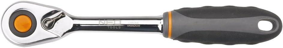 1//4 pulgadas, 135 mm Neo Tools 08-500 Mango con carraca