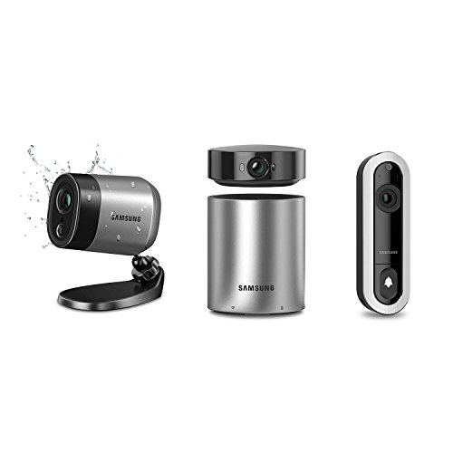 Samsung Wisenet SmartCam Wireless Home Monitoring System & V