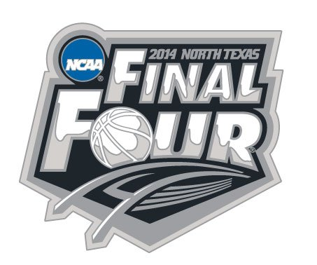 2014 Ncaa Final Four - Official 2014 NCAA Final Four Logo Pin
