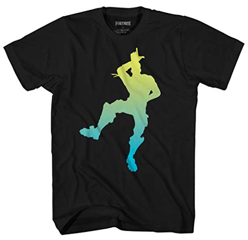 Epic Games Fortnite Shirt Men's Take The L Dance Officially Licensed Adult T-Shirt (Small) Black ()