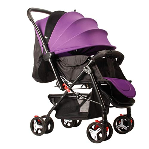 $188.15 Target Infant Car Seats Baby Stroller Multi-Functional Buggy with Safe Five-Point Harness and Brake, Adjustable Backrest Compact Baby Pushchair from Birth (Color : D) 2019