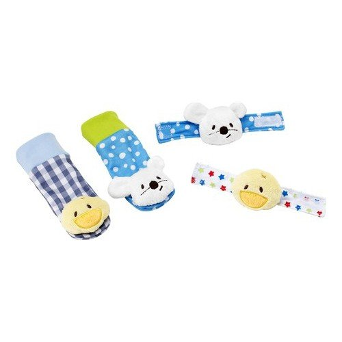 Serra Baby - Hand and Foot Rattle Inside Clakı Body-Set
