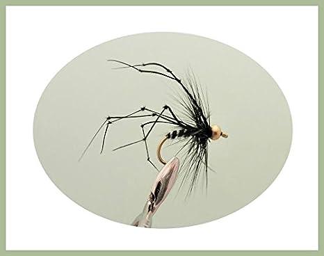 Fishing Flies Daddy long Legs Trout Flies size 10 12 Pack,6 Varieties