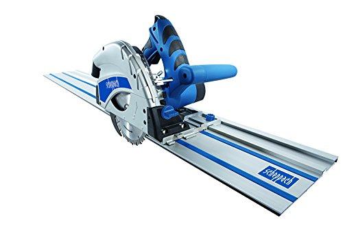 Scheppach Tauchsäge PL55 1,2 kW 230 V 50 Hz - 2x700 mm F-Schiene plus Kippschutz, 5901802915