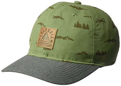 Columbia Baseball Hat (Columbia Men's Lost Lager Hat, Mosstone, Mountain Patch, O/S)