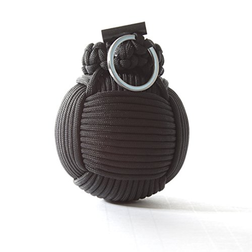 Holtzmans-Survival-Kit-Paracord-Grenade-The-1-BEST-48-tool-emergency-kit-Solid-Black