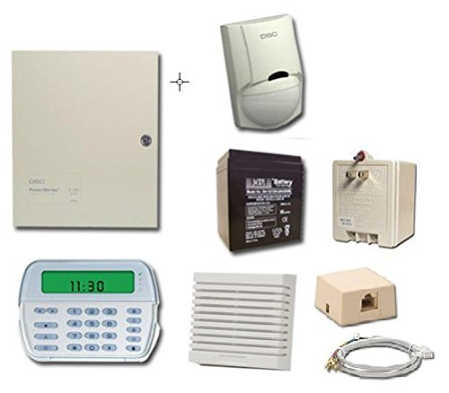 DSC TYCO Alarm System PC1832 with PK5501 Keypad Ver 4.6