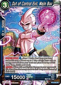 Amazon.com: Dragon Ball Super TCG - Out of Control Evil ...