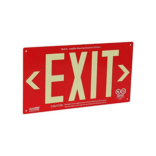 Ul924 Exit Signs (SmartSign by Lyle EXIT-AG-103