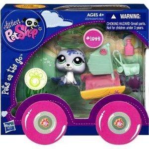 Littlest Pet Shop Pets On the Go Series 1 Seal with Catamaran by Littlest Pet Shop