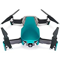 Wrapgrade Poly Skin for DJI Mavic Air | Unit A: Colored Parts and Rear Trim (CARIBBEAN BLUE)