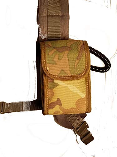 (Clakit Rangefinder Clip-On Pouch for Backpack Straps (Camo) Attachment for Hunters)