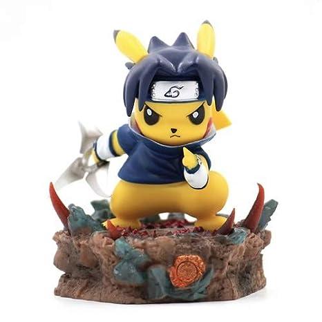 Amazon.com: DMCMX Pokemon Pikachu Cosplay Naruto Uchiha ...