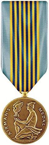 [해외]Airman`s Medal Miniature / Airman`s Medal Miniature