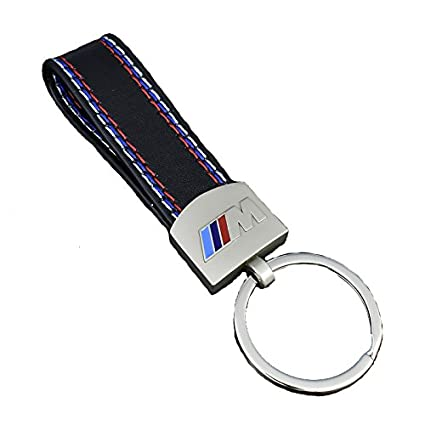 Llavero BWM M || Piel Bordada y Emblema en Color Motorsport ...