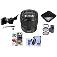 Canon EF-S 15-85mm f/3.5-5.6 USM IS Image Stabilized AF Lens Kit, U.S.A. - Bundle with 72mm UV Wide Angle Filter, Lens Cleaning Kit, Flex Lens Shade, Lens Wrap (15x15), Capleash II, Pro Software Pack