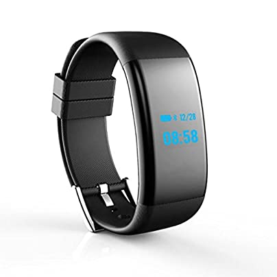LL-Smart Bracelet watch Bluetooth 4 0 Heart Rate Blood Pressure Oxygen Monitor Wristband Waterproof Smartband Estimated Price £48.00 -