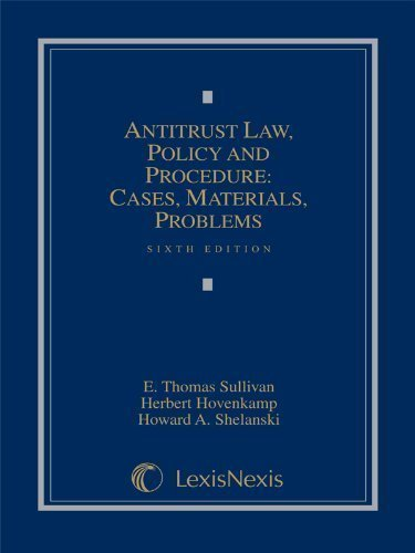 antitrust-law-policy-and-procedure-cases-materials-problems-sixth-edition-6th-sixth-edition-by-e-tho