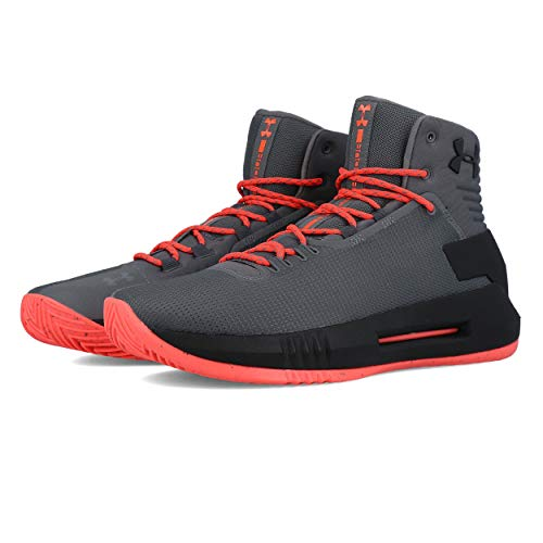 Under Armour Men's Drive 4 Basketball Shoe, (040)/Graphite, 9 ()