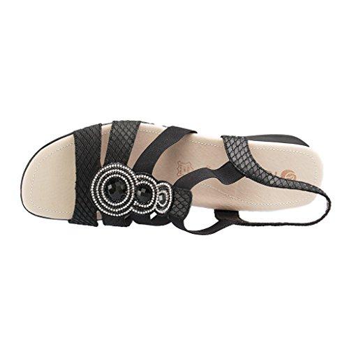 femmes femmes Sandale R5248 Noir femmes Remonte Remonte R5248 R5248 Sandale Noir Remonte zpdpq