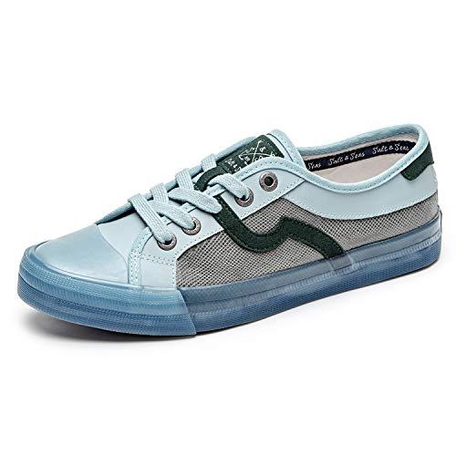 Salt&Seas Men Adults Fashion Sneakers Low Top Lace Up Casual Shoes Light Blue ()