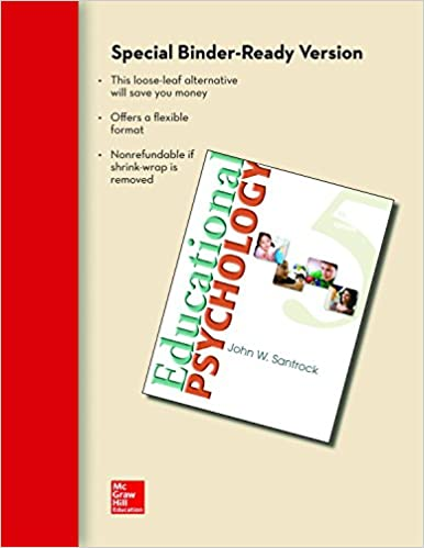 Looseleaf for educational psychology john w santrock 9780077584009 looseleaf for educational psychology 5th edition fandeluxe Choice Image