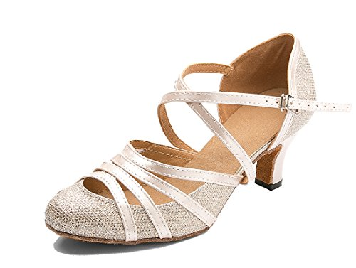 TDA CM105 Womens Ankle Strap 6cm Champagne
