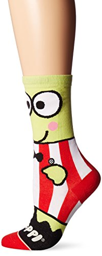 Stance Women's Sanrio Keroppi Graphic Everyday Crew Sock, Green, M