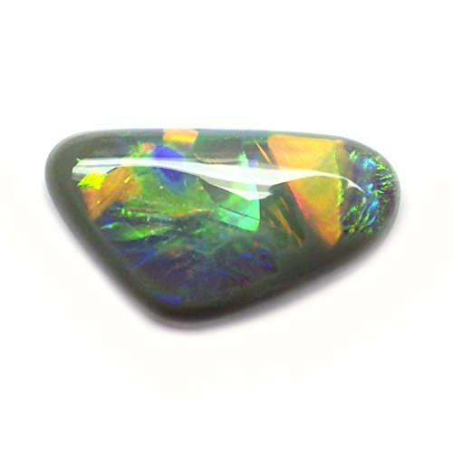 1.53 Ct. Natural Fancy Cabochon Multi-color Opal Australian Loose Gemstone