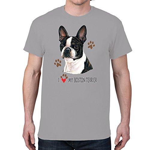 men s i love my boston terrier
