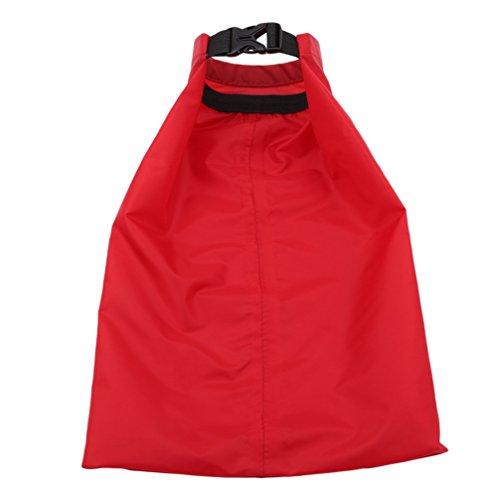 Chinget Imprägniern kampierender Rucksack des im Freien ultra hellen Beutels, der Polyester PU beschichtet, der trockenen Beutel beschichtet Rot