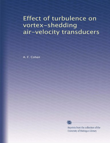 Effect of turbulence on vortex-shedding air-velocity transducers