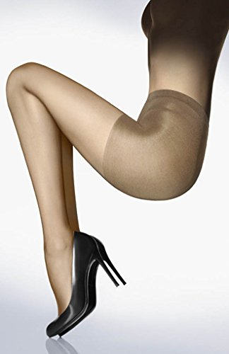 Wolford Women's Individual 10 Control Top Tights Cosmetic Medium