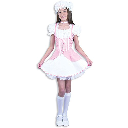 BOS Child's Pink Little Peep Costume, Size Youth Medium 8-10]()