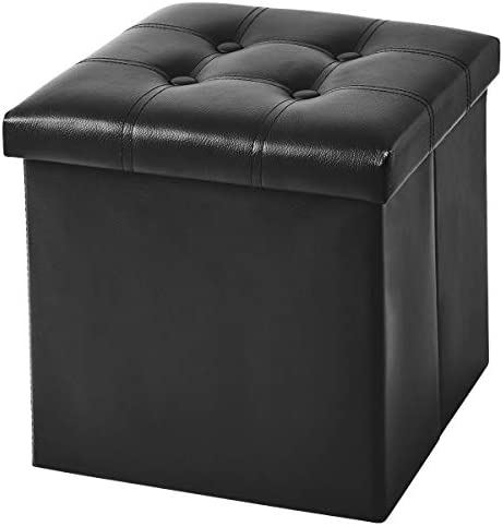 YOUDENOVA 15 inches Folding Storage Ottoman