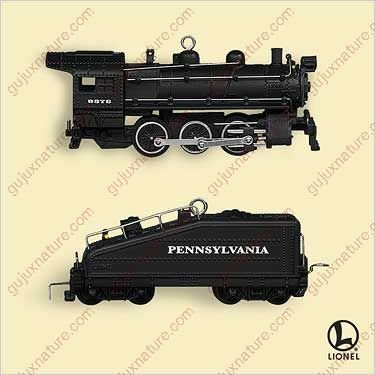 Ornaments Mini 2006 - LIONEL - B6 LOCOMOTIVE & TENDER MINIS 2006 Hallmark Ornament QXM2096