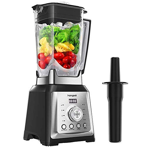 Homgeek Blender Smoothie Maker, 30000 RPM High Speed Professional Countertop Blender for Shakes and Smoothies, with 8-speeds Control, 68OZ BPA-Free Tritan Pitcher, 1450W