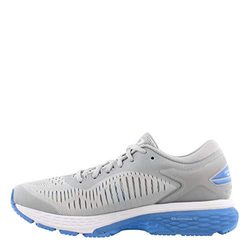 ASICS Gel-Kayano 25 Women's Shoe, Mid Grey/Blue Coast, 5 B US by ASICS (Image #3)